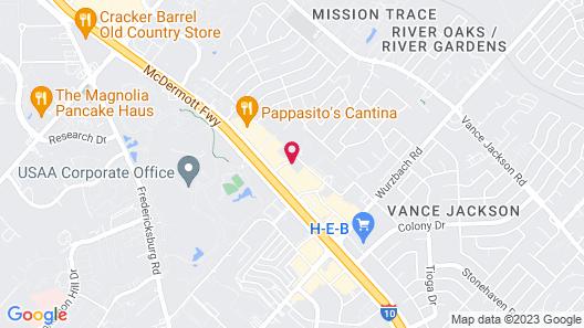 Sonesta ES Suites San Antonio Northwest Map