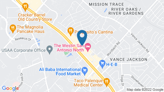 Homewood Suites by Hilton San Antonio Northwest Map