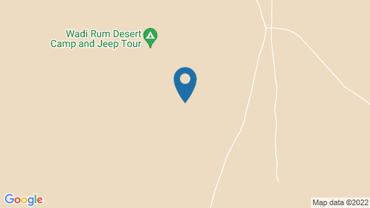 Wadi Rum Beduland Camp Map