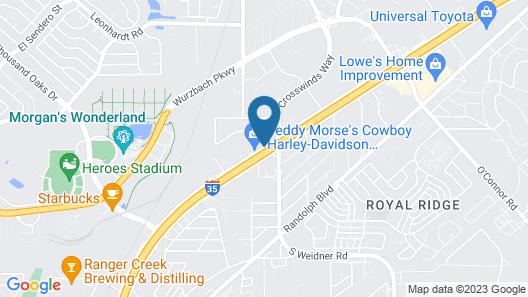 Super 8 by Wyndham San Antonio/I-35 North Map