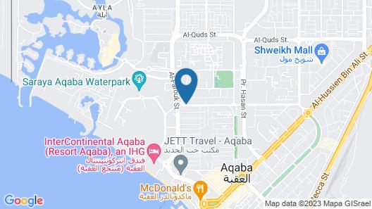 Oryx Aqaba Map