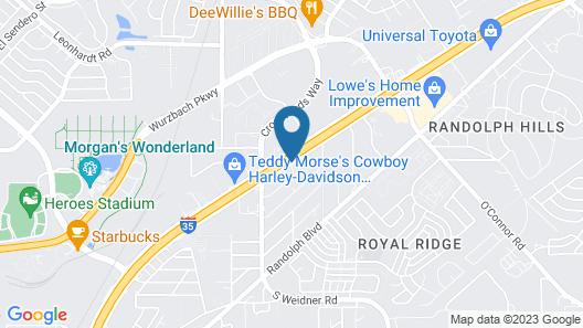 Days Inn by Wyndham San Antonio Morgan's Wonderland / IH-35 N Map