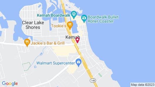 Holiday Inn Kemah (Near Boardwalk) Map