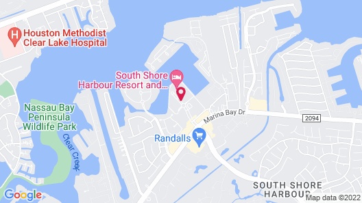 South Shore Harbour Resort & Conference Center Map