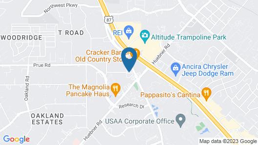 TownePlace Suites by Marriott San Antonio Northwest Map