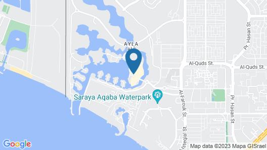 Cloud7 Residence Ayla Aqaba Map