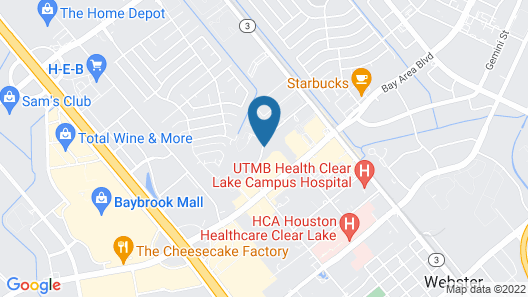 Staybridge Suites Houston-Nasa/Clear Lake, an IHG Hotel Map
