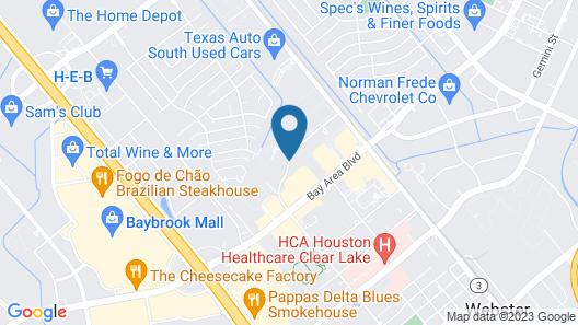 Staybridge Suites Houston-Nasa/Clear Lake Map