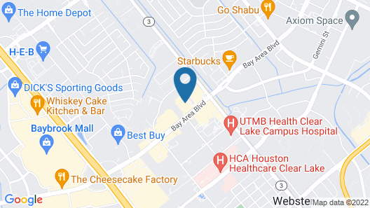 Holiday Inn Houston Webster, an IHG Hotel Map