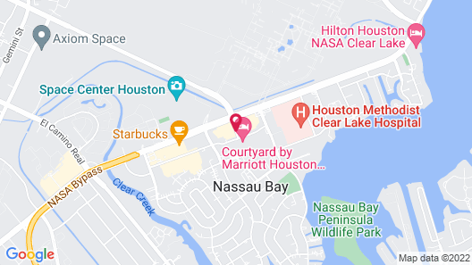 Courtyard by Marriott Houston NASA/Clear Lake Map