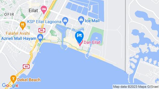 Dan Eilat Map