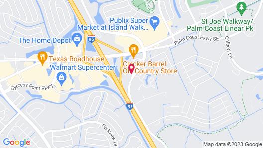 Microtel Inn & Suites by Wyndham Palm Coast Map