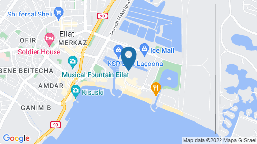 Isrotel Riviera Club Map