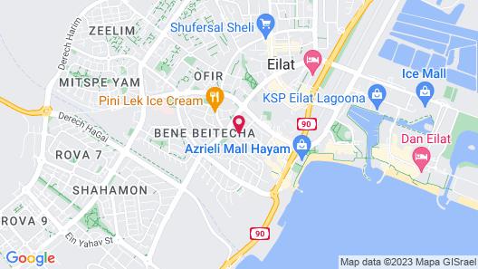City Suites Map