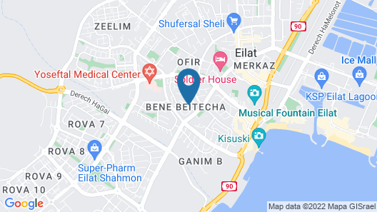 Dayos Unique Suites Map