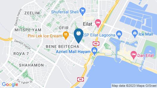 City Apartments Eilat Map