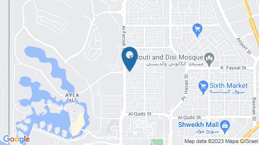 Al Hawari Apartments - Al Farouk Street Map