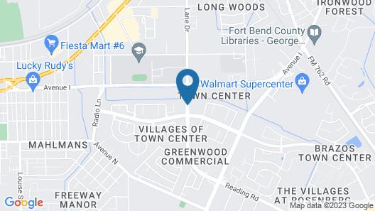 SpringHill Suites by Marriott-Houston/Rosenberg Map