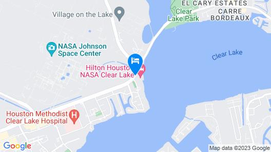 Hilton Houston NASA Clear Lake Map