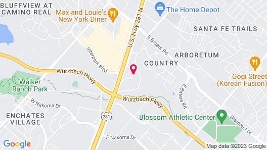 Hilton Garden Inn San Antonio Airport Map