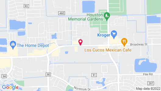 Candlewood Suites Pearland Map