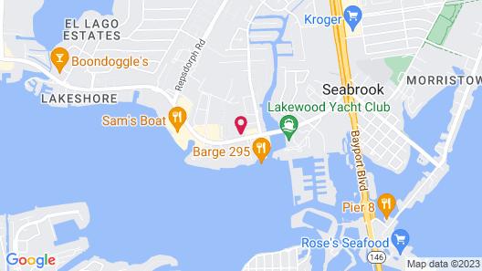 Holiday Inn Express & Suites Houston NASA - Boardwalk Area Map