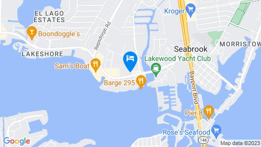 Holiday Inn Express & Suites Houston NASA - Boardwalk Area, an IHG Hotel Map