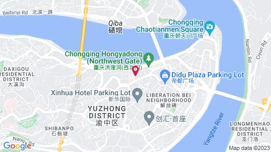 Atour Hotel Hongyadong Riverside Chongqing Map