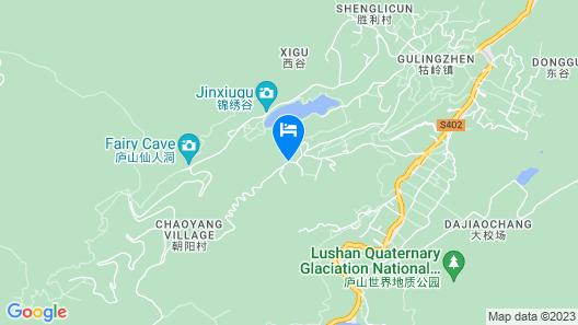 Howard Johnson Huaihai Resort Lushan Map
