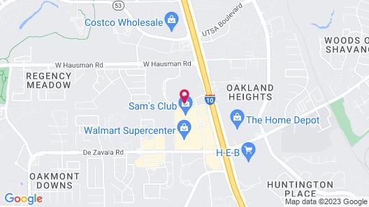 Holiday Inn San Antonio Northwest, an IHG Hotel Map