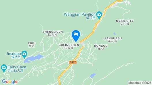 Baiyun Hotel - Lushan Map