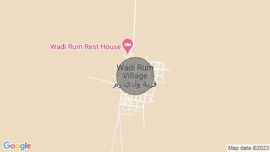 Wadi Rum Bubble Luxotel Map
