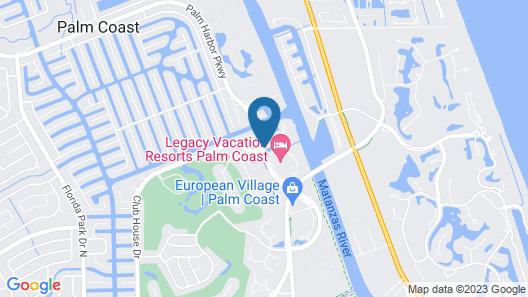 Legacy Vacation Resorts Palm Coast Map