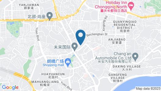 Hyatt Regency Chongqing Map