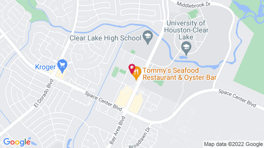 Sonesta Simply Suites Houston – NASA Clear Lake Map