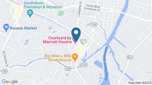 Courtyard Houma Map