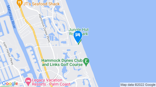 Beach Belle - Four Bedroom Home Map