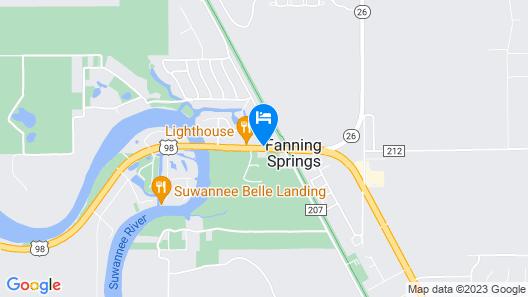 Cadillac Motel Fanning Springs Map