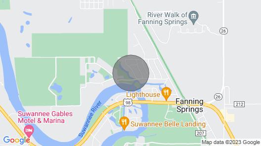 Unique Waterfront Tiny Cottage Map