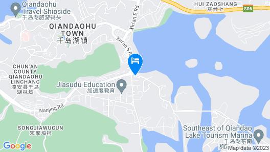 Longting New Century Hotel Qiandao Lake Map