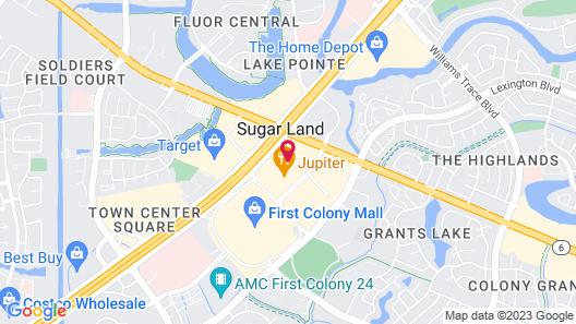 Houston Marriott Sugar Land Map