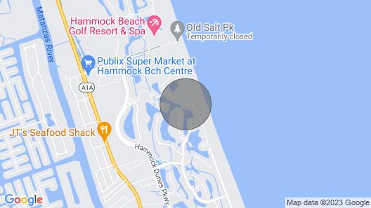 The Fishing Flamingo 3/3 Condo - Ocean, Golf View Map