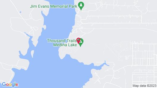 Medina Lake RV Campground Map