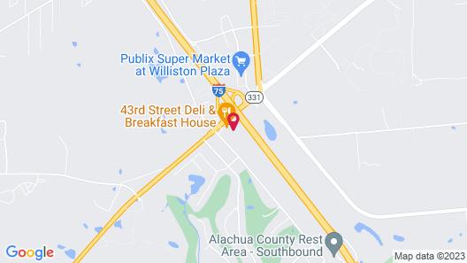Quality Inn Gainesville I-75 Map