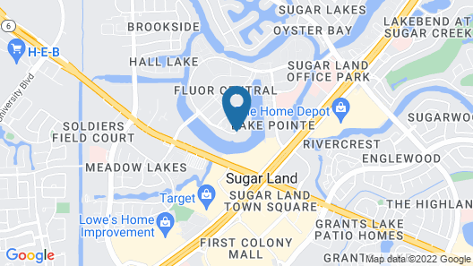Hyatt Place Houston/Sugar Land Map