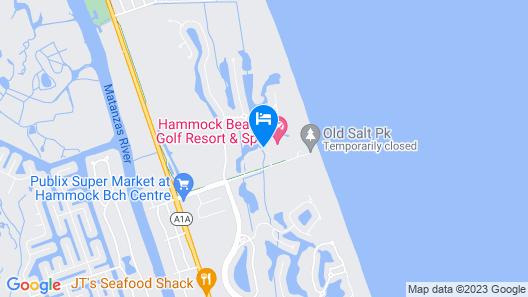 Hammock Beach Golf Resort & Spa Map
