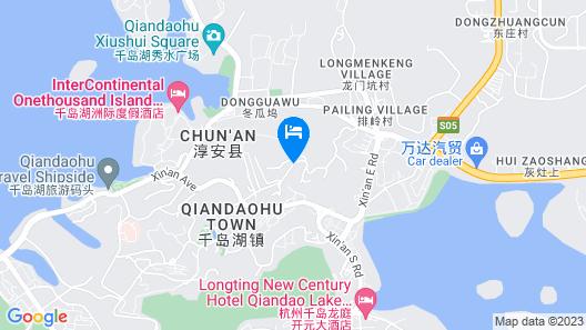 Qiandao Lake Jingting Hotel Map