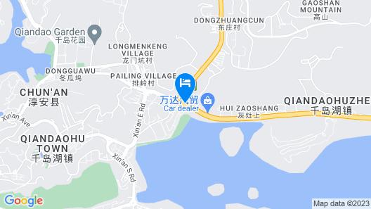 Longting New Century Hotel Qiandao Lake Hangzhou Map