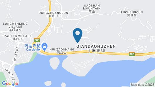 Hilton Hangzhou Qiandao Lake Resort Map