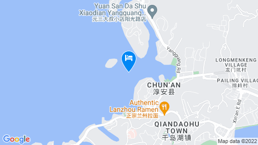 Sheraton Qiandao Lake Resort Map